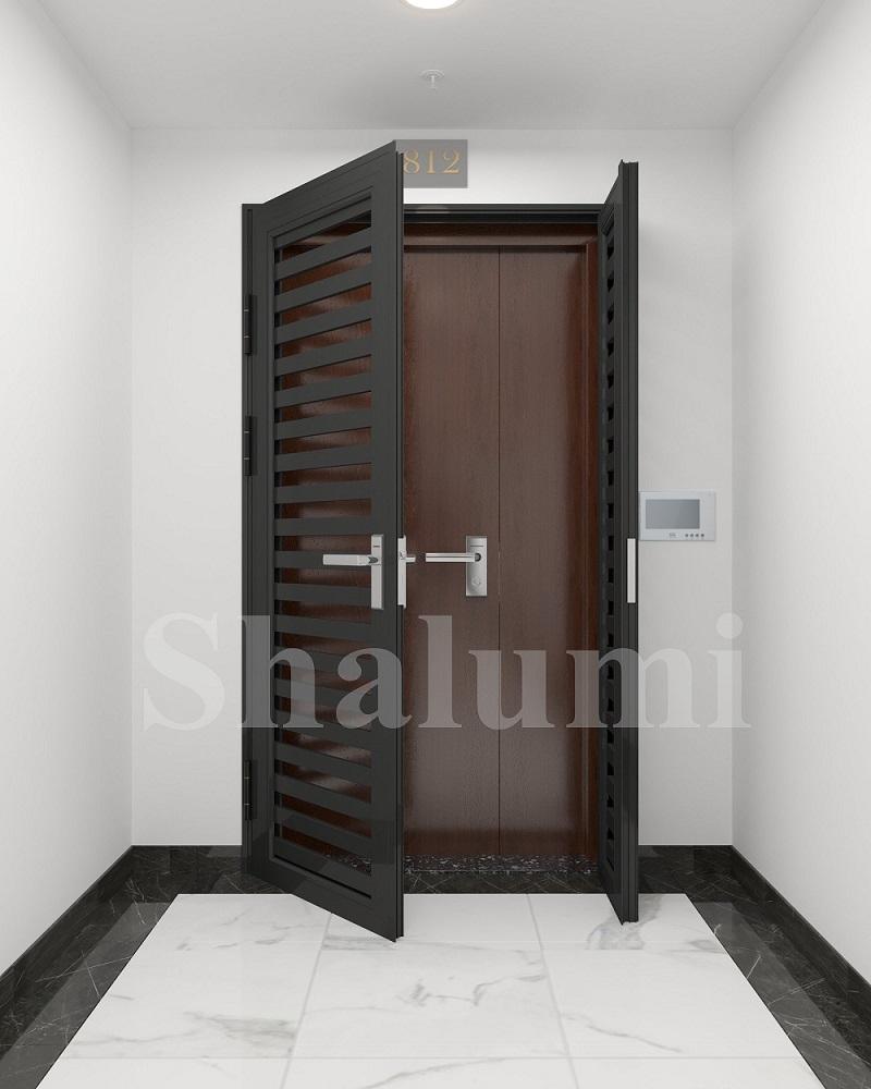 Hệ ngoại thất CGA SHALUMI