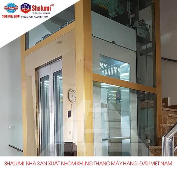 SHALUMI - Nhà sản xuất nhôm khung thang máy hàng đầu Việt Nam