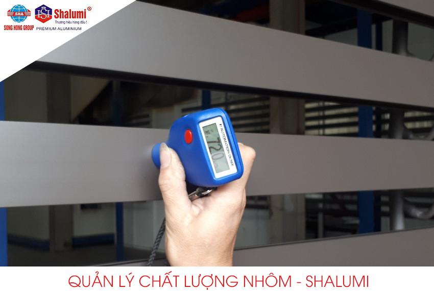 Quản lý chất lượng nhôm Shalumi
