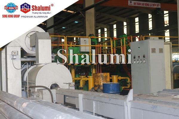 Nhà máy nhôm Sông Hồng Shalumi - Điều kiện kiện làm việc của khuôn đùn ép nhôm thanh định hình